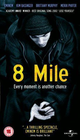 8 Mile... #LoseYourself in the music, the moment, you own it.