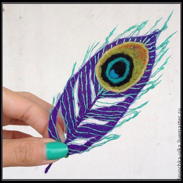 Как сделать перо жар-птицы своими руками