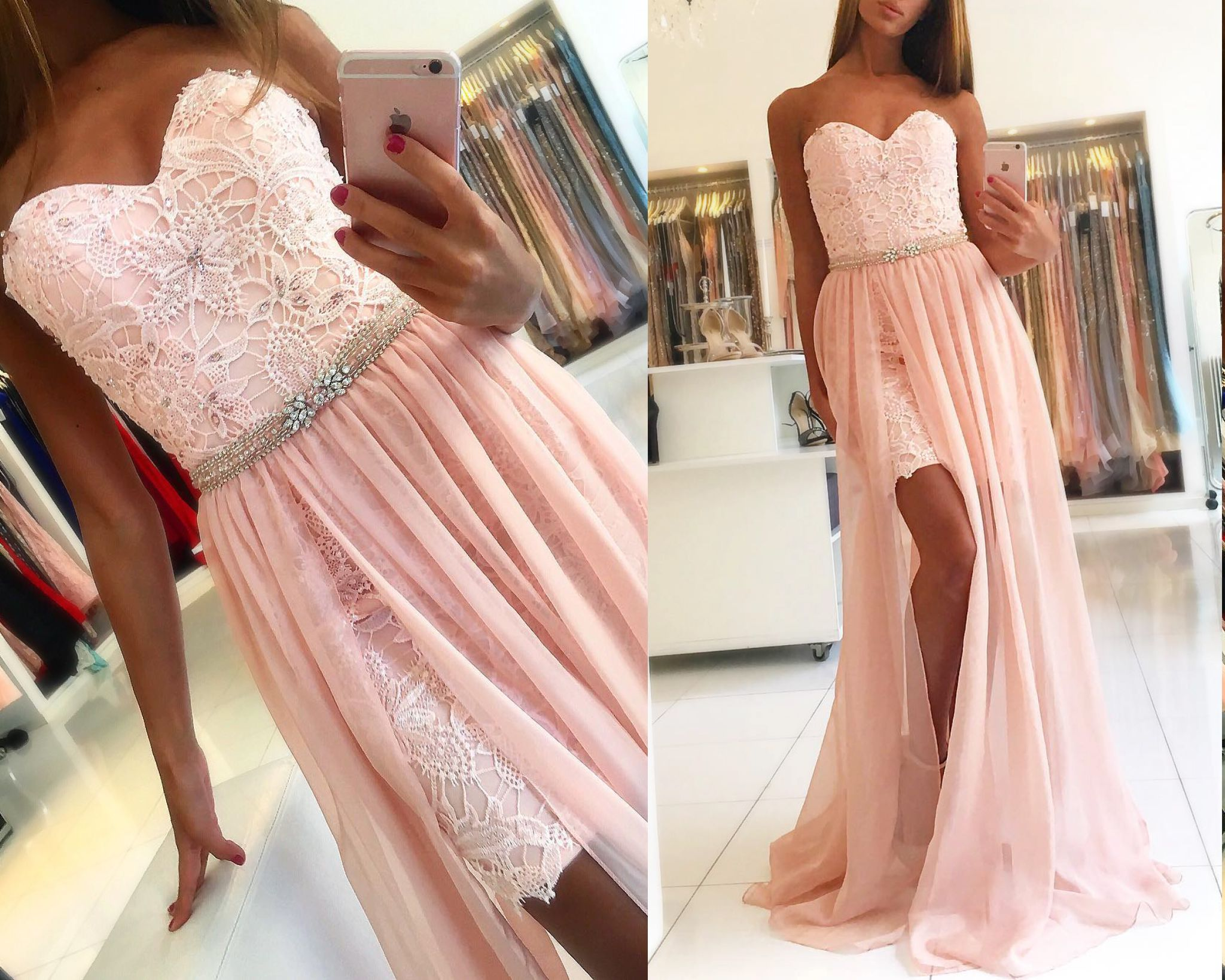Terani Couture strapless #ace #promgown. This #promdress comes with ...
