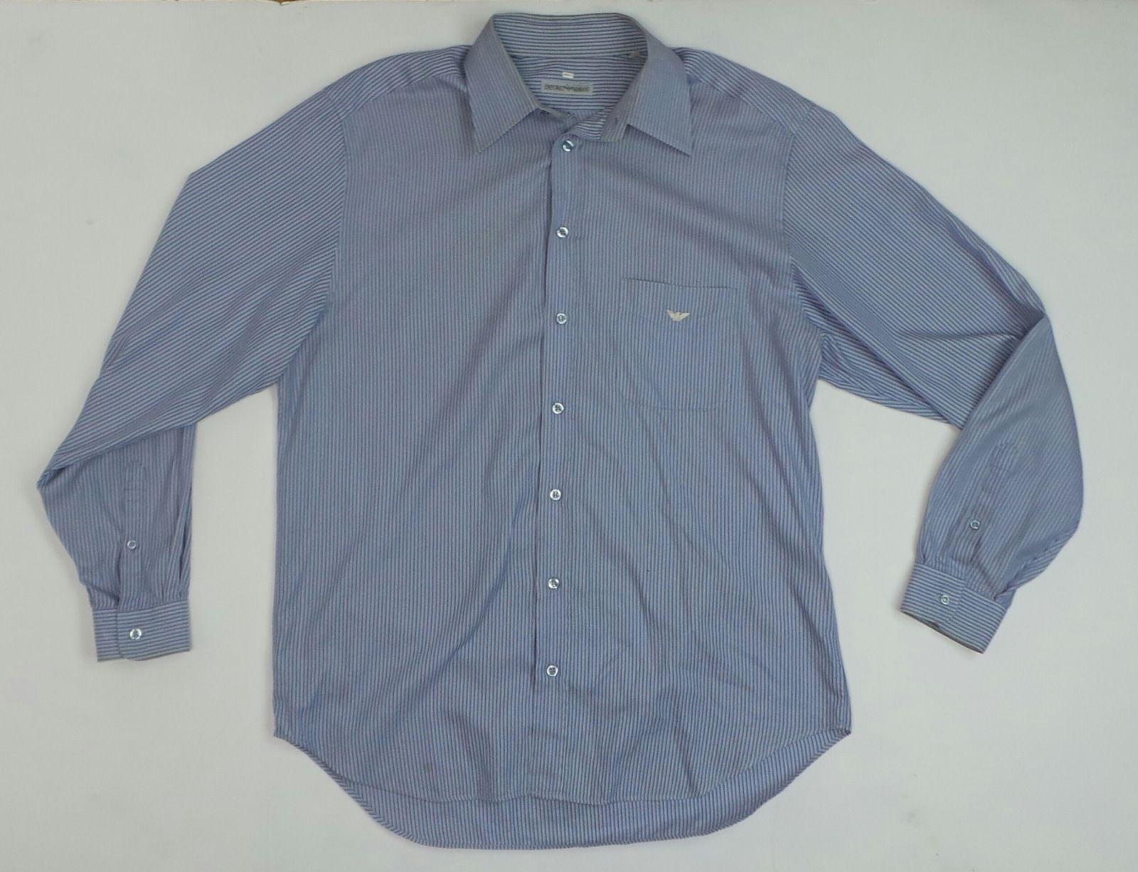 16 Dress Shirt Men's 41 Striped Size Men's eBay Armani Emporio ZqvRT67wv