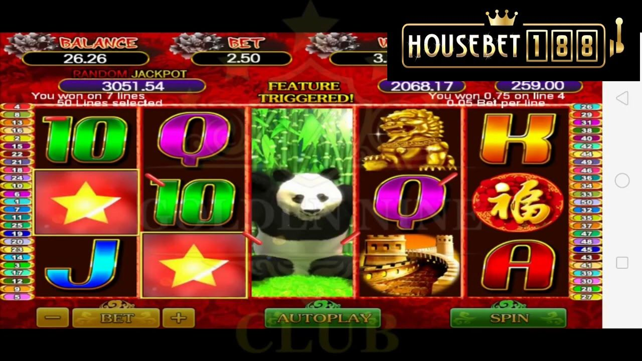 Panda Fortune l Major Jackpot l Mega888 ft HouseBet188