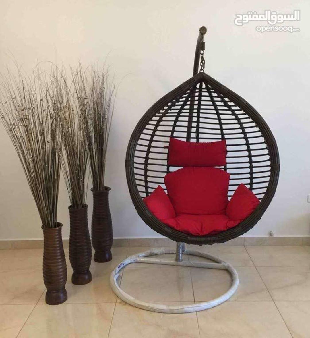 كرسي ارجوحة مميز للبيع للتفاصيل اتصلوا على الرقم 0795606891 للمزيد من الإعلانات والعروض المميزة تصفحوا الموقع أو حم لوا التطبيق ال Hanging Chair Chair Decor