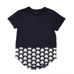Band Of Boys Headphones Tee Navy
