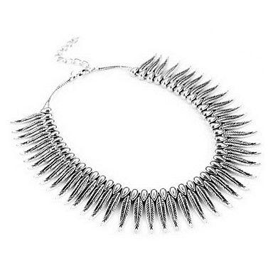 Fashion leaf collar necklace