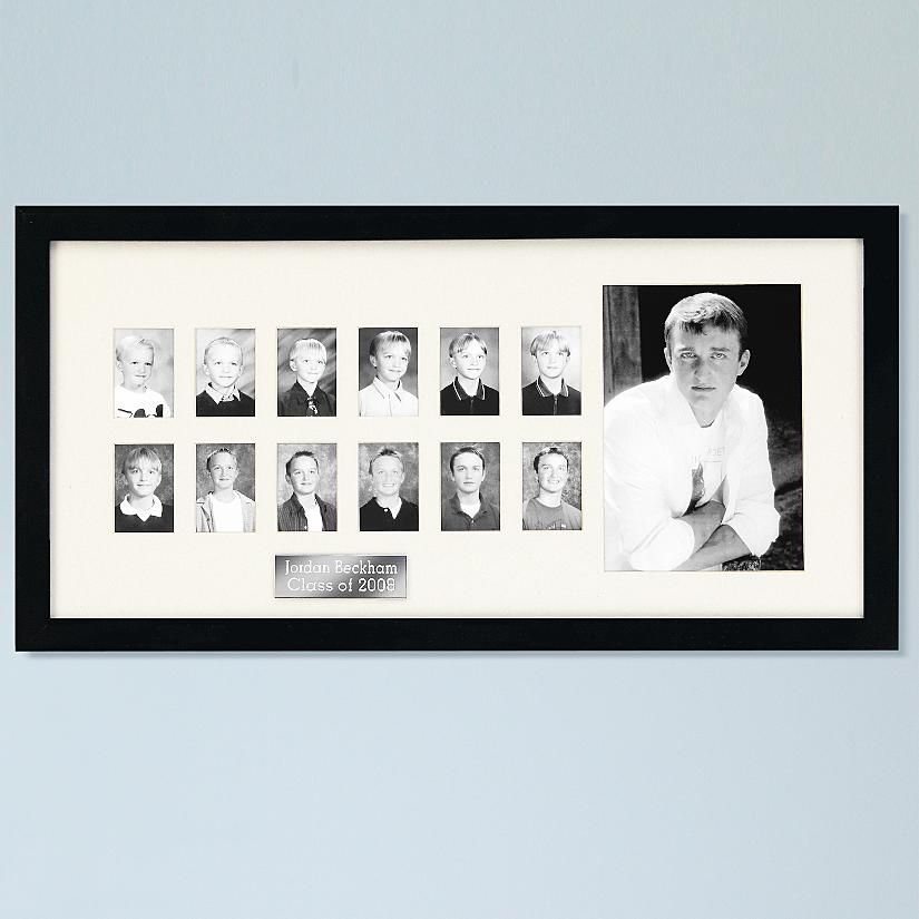 Personalized School Years Picture Frame...has a larger opening to ...