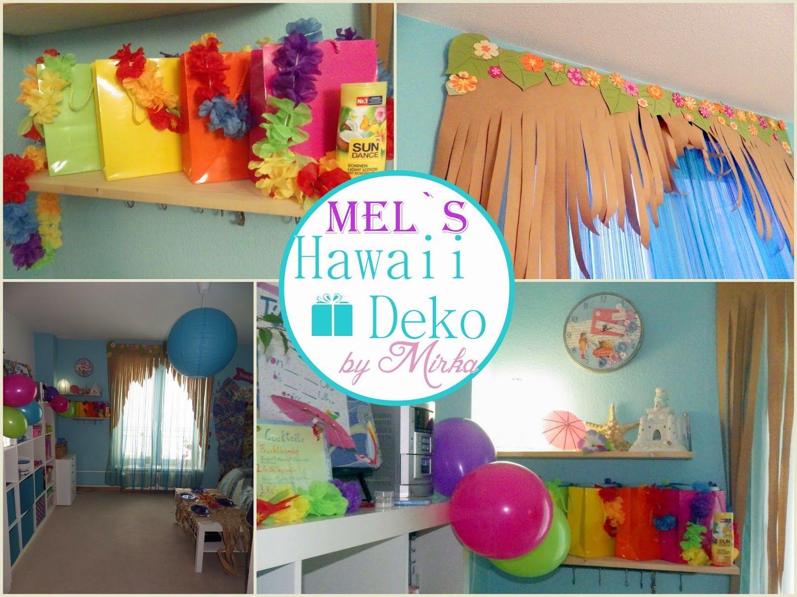hawaii party deko 30b day pinterest party geburtstag und geburt. Black Bedroom Furniture Sets. Home Design Ideas
