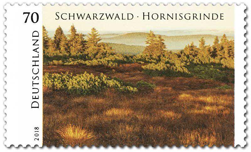 Stamp Black ForestHornisgrinde (Germany, Federal