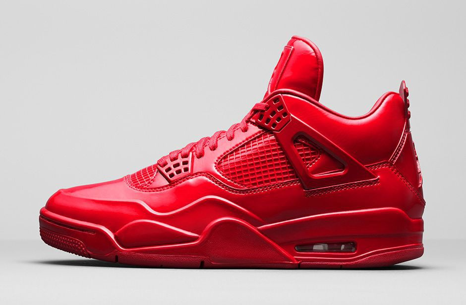 air jordan 4 all red