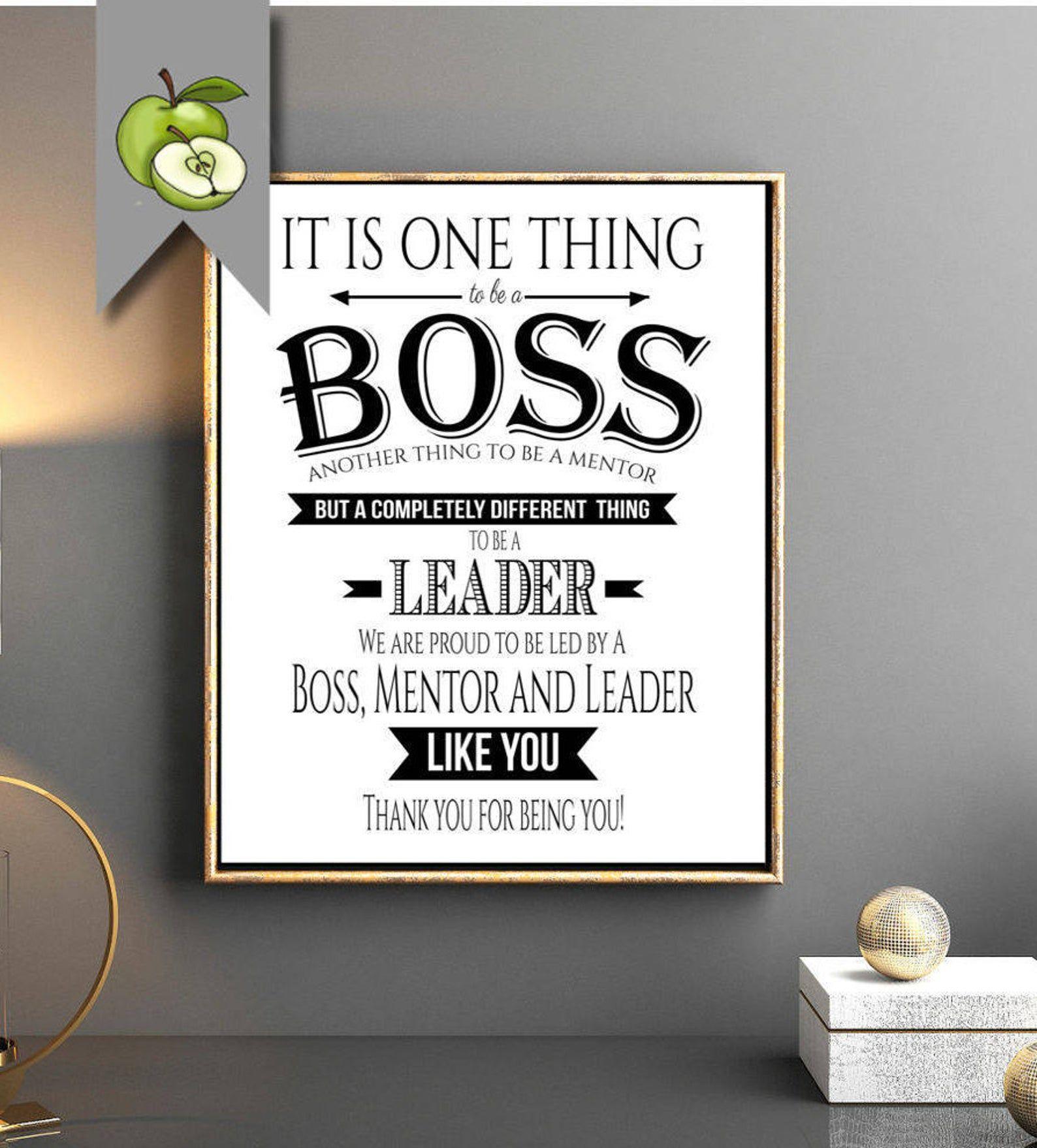 Boss appreciation day Boss week boss award boss mentor