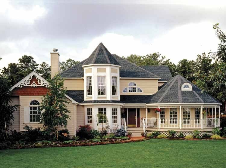 Eplans queen anne house plan victorian country style for Eplans house plans