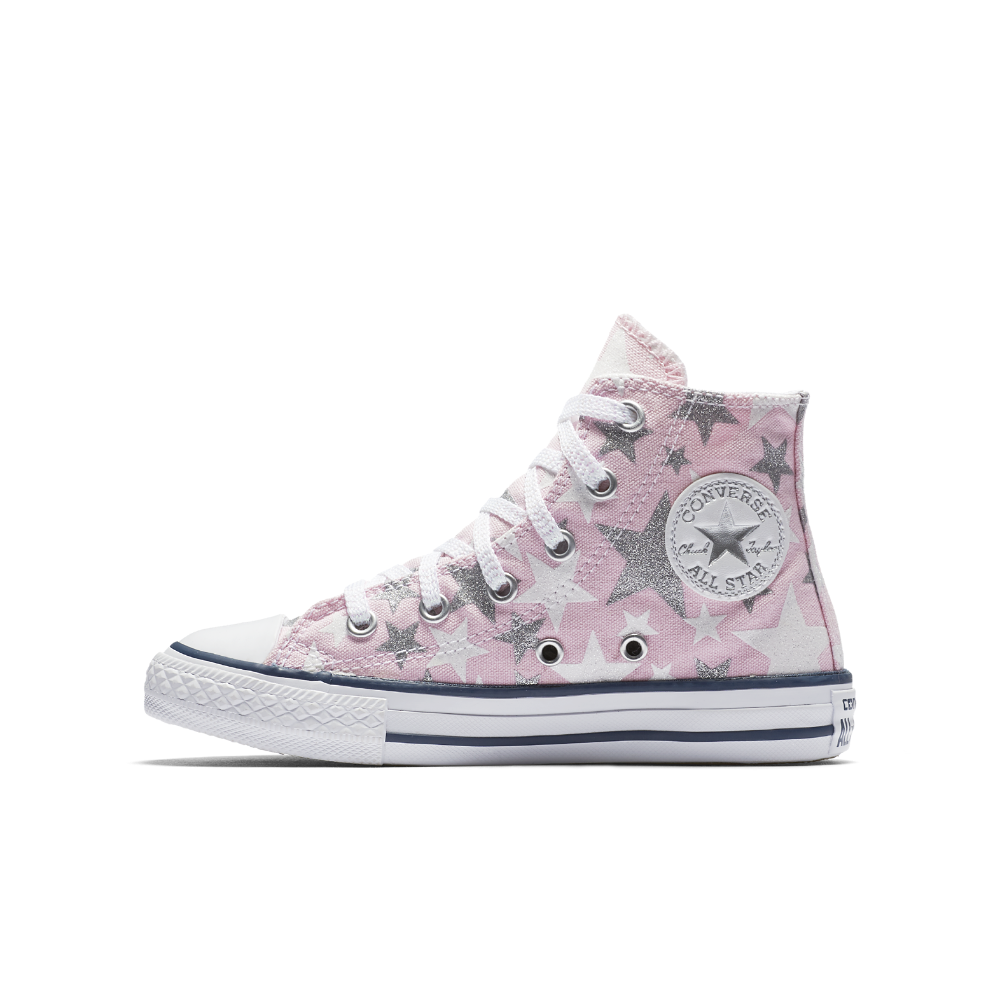 8fa937301d0 Converse Chuck Taylor All Star Fairytale High Top Big Kids  Shoe Size 11C  (Pink)