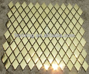 yx mi36 houses decoration materials metal mosaic tiles stainless steel mosaic tiles 38
