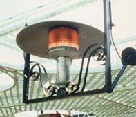 Sunglo Decorative Hanging Natural Gas Patio Heater 1120