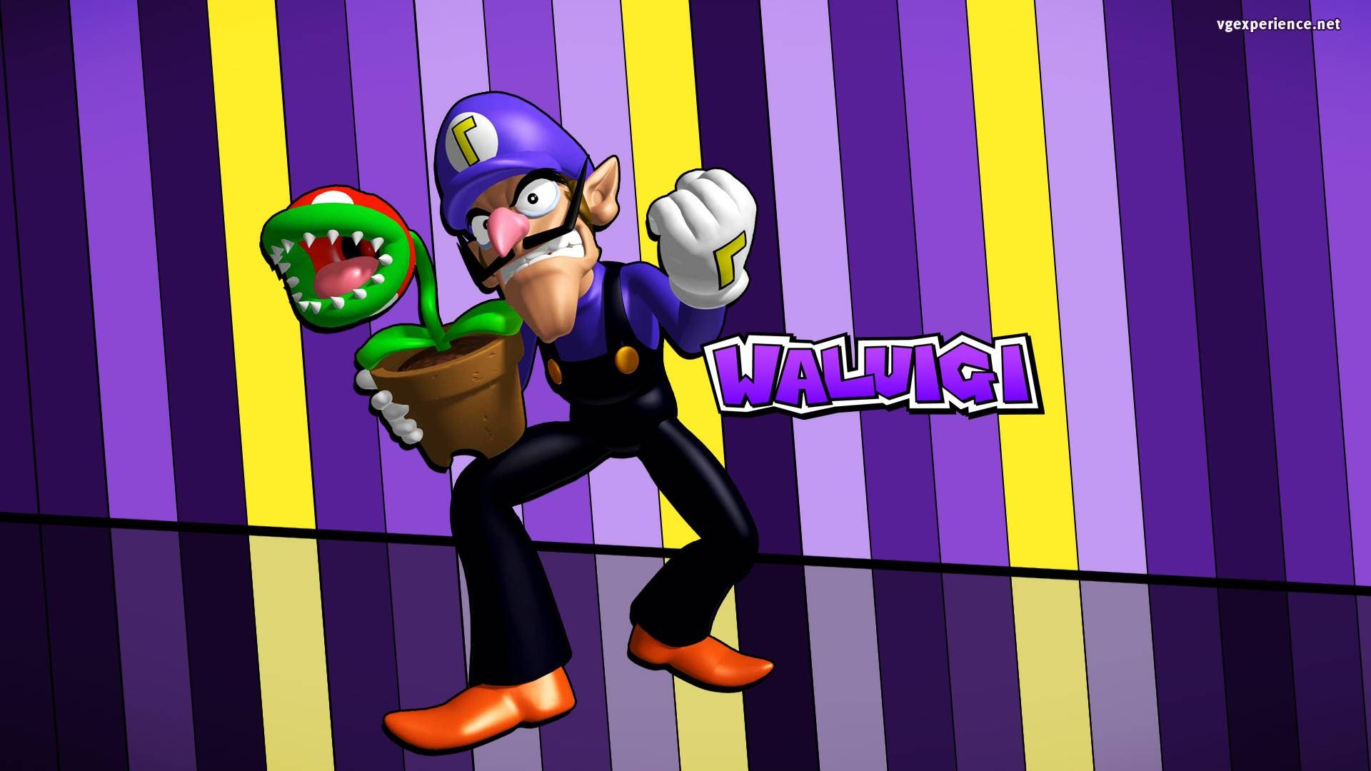 Waluigi Is Awesome Mario And Luigi Wallpaper Video Game