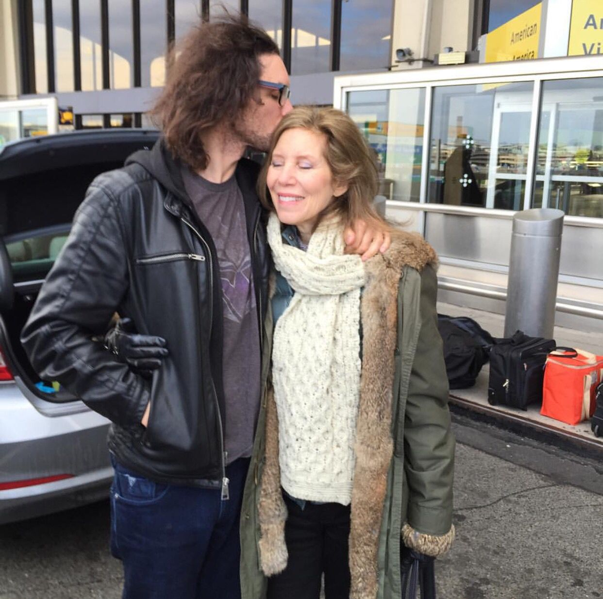 Photo of Dan Avidan  & his  Mother  Debra Schwartz