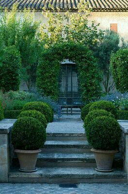 garten terrasse mediterran – tiedweb, Hause und garten