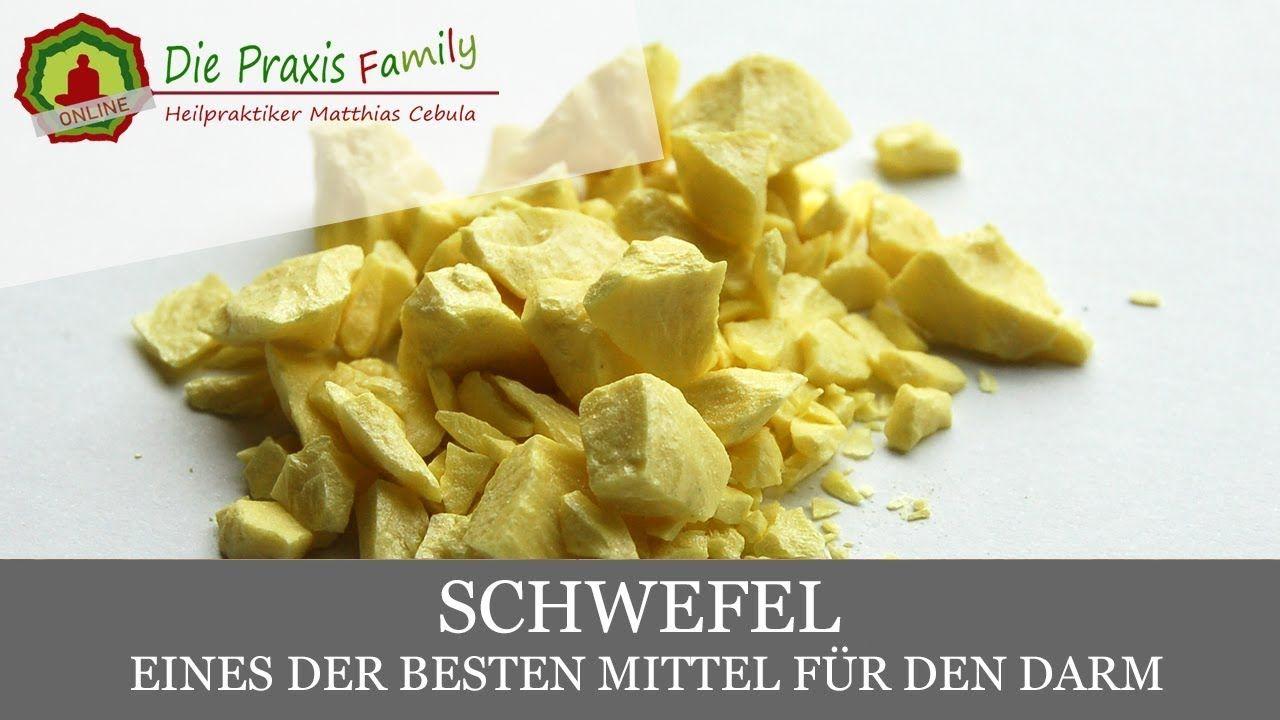 Schwefel - Stark für Darm - Haut - Gesundheit