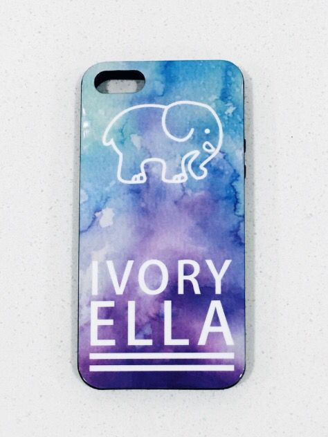 76b658a87 Water Color Phone Case  24.99 Ivory Ella gives 10% of profits to Save the  Elephants