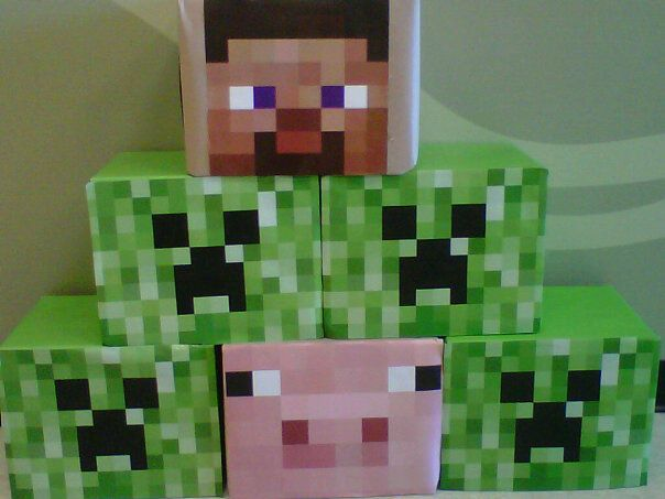 DIY Minecraft Costume/Head Gear & DIY Minecraft Costume/Head Gear | I made this! | Pinterest | Craft