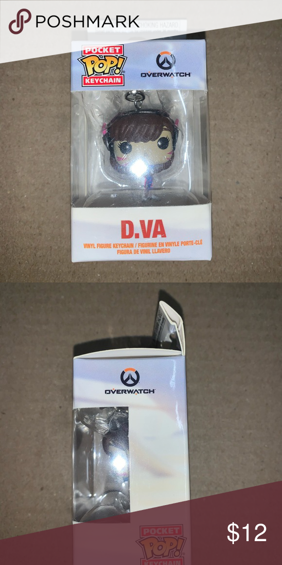 Funko Pocket POP Overwatch D.Va Keychain