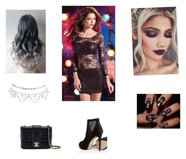 """""""Hot night out #2"""" by maddison-baron on Polyvore featuring ALDO, Charlotte Russe and Chanel"""