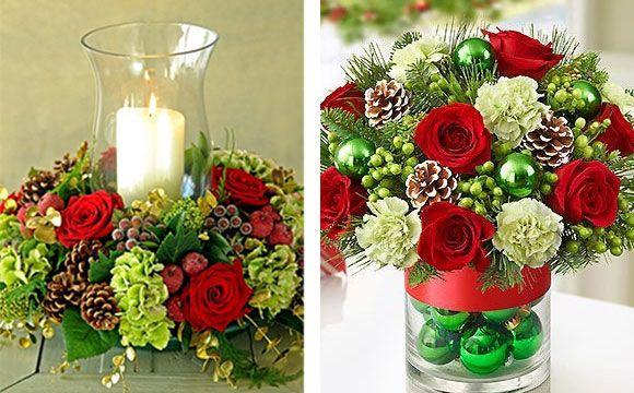 Veja 10 Arranjos De Rosas Vermelhas Para A Mesa De Natal Vasos