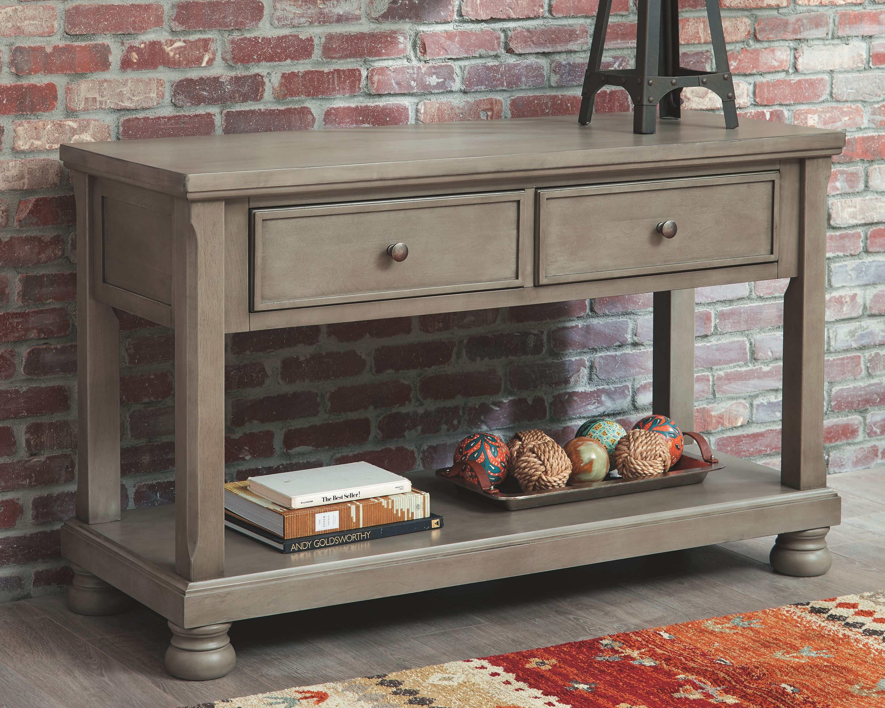Lettner Sofa Console Table Gray Sofa Table Matching Bedroom Set Console Table
