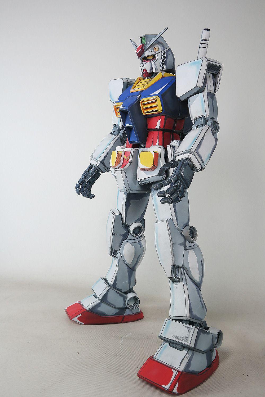 PG 1/60 RX782 Gundam 'Anime Colors Custom' Customized