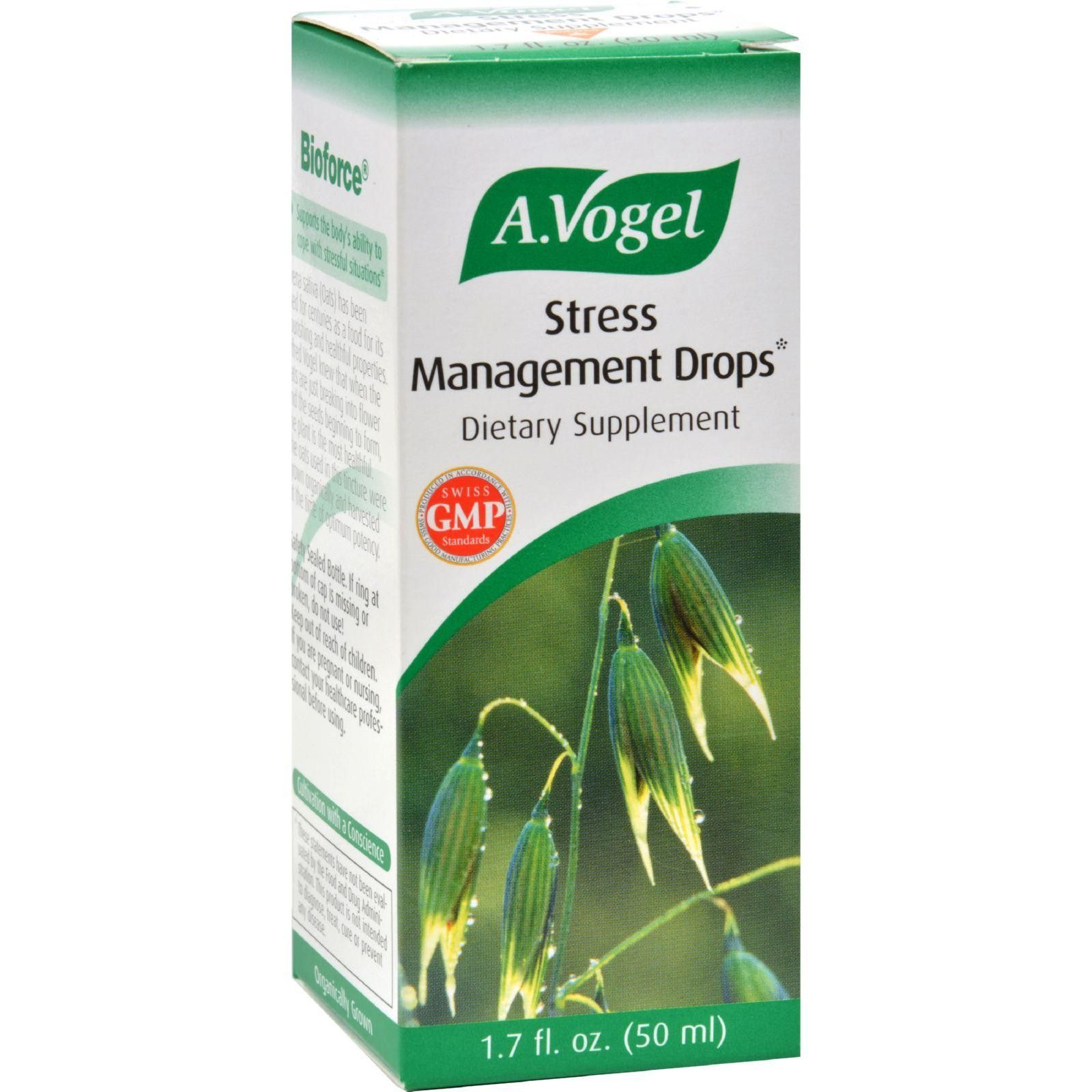 A Vogel Stress Management Drops