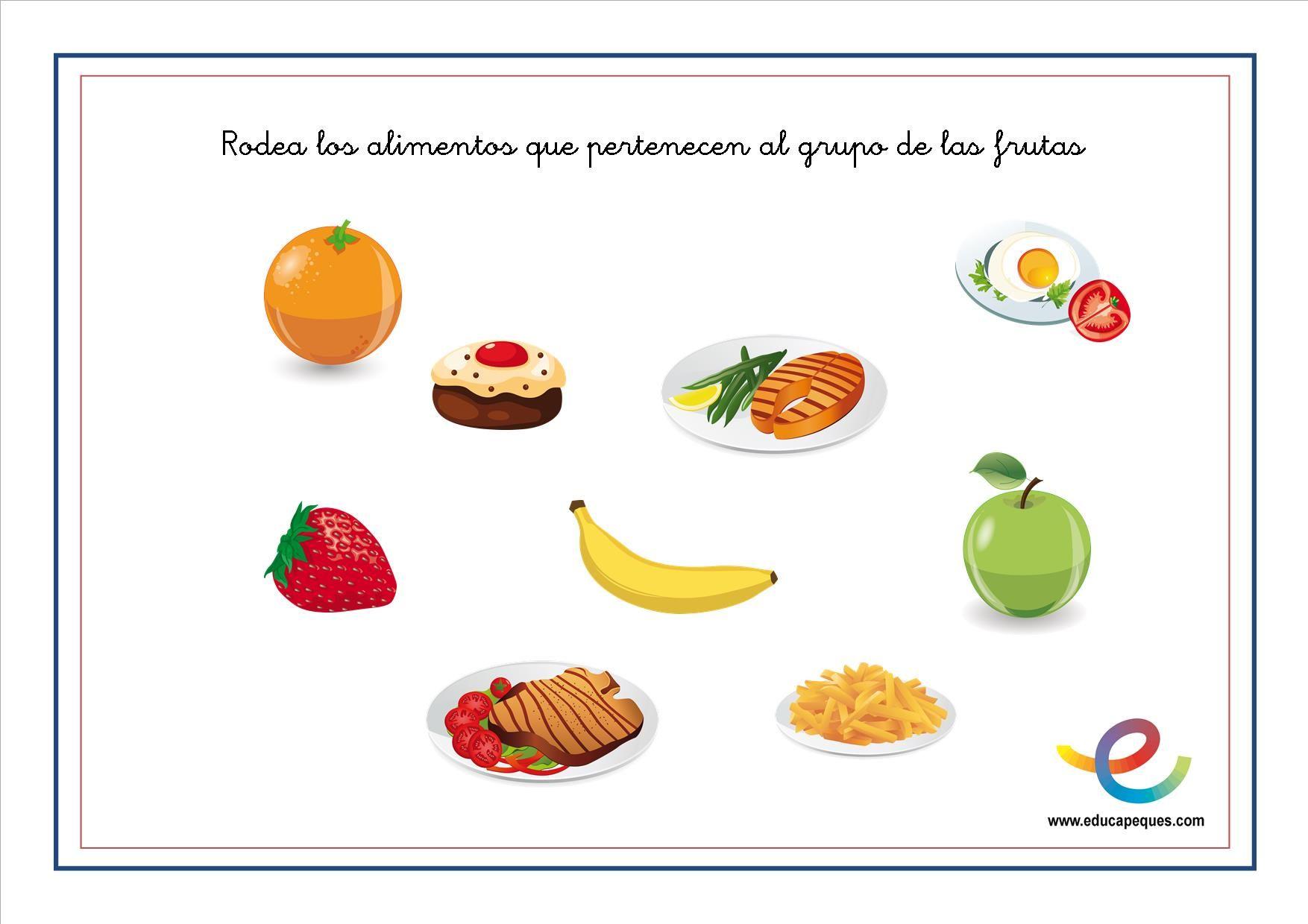 dieta saludable para ninos de primaria