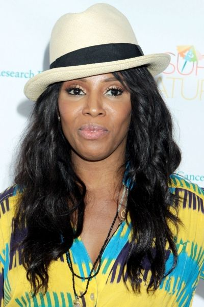 June Ambrose rocks a fedora with style