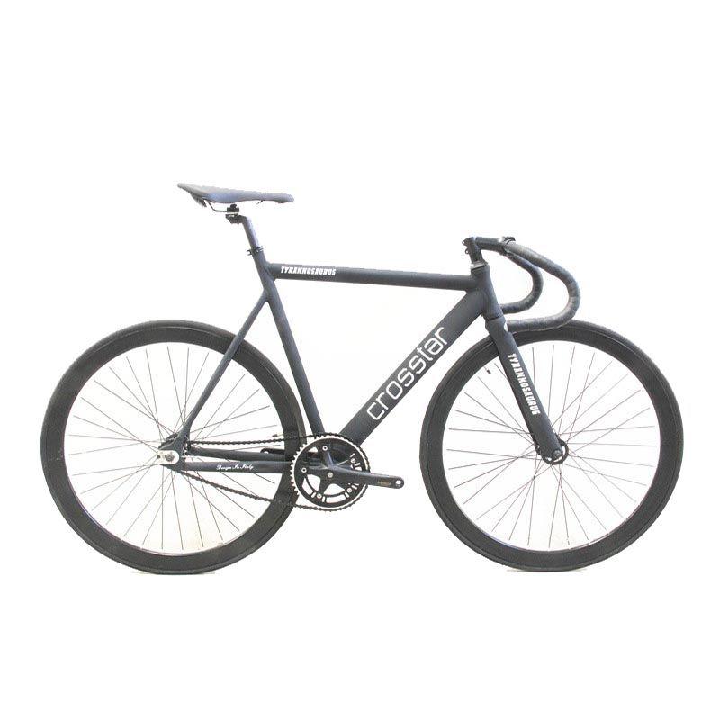 Fixed Gear Bike Urban Track Bike Fixie Carbon Fiber Fork Commute ...