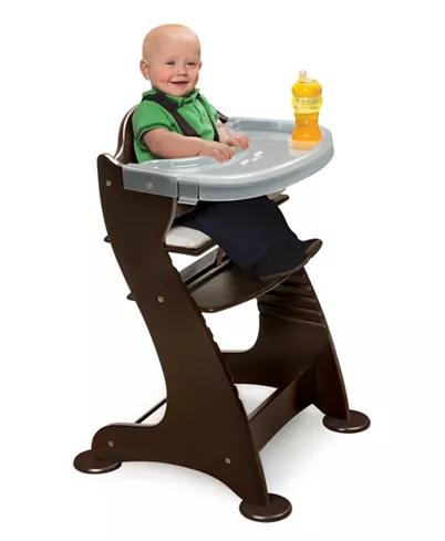 Badger Basket Unisex Embassy Adjustable Wood High Chair Reviews All Baby Gear Essentials Kids Mac In 2020 Wood High Chairs Wooden High Chairs Baby High Chair