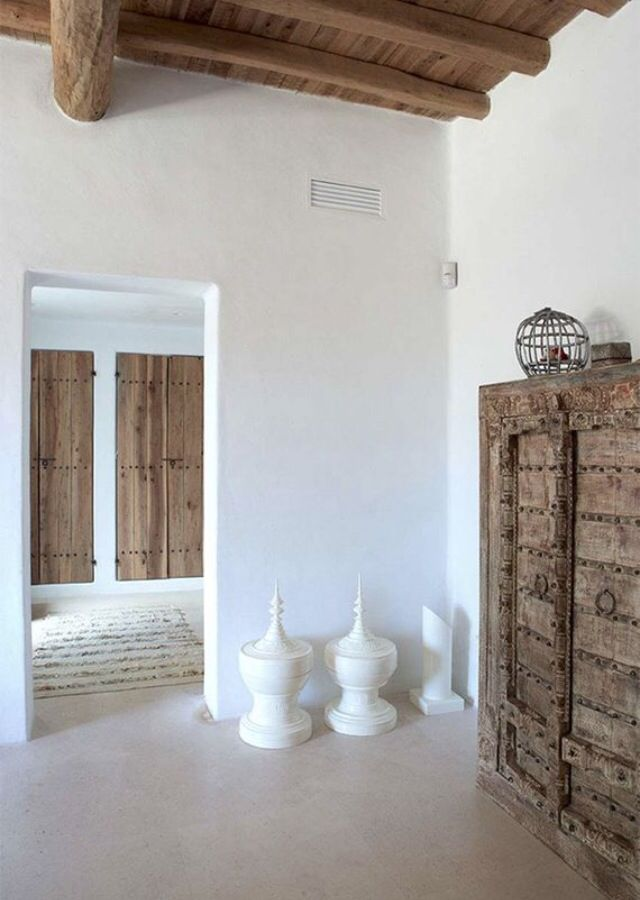 Calm and rustic with a modern touch / #interior #ibiza | ibiza ...