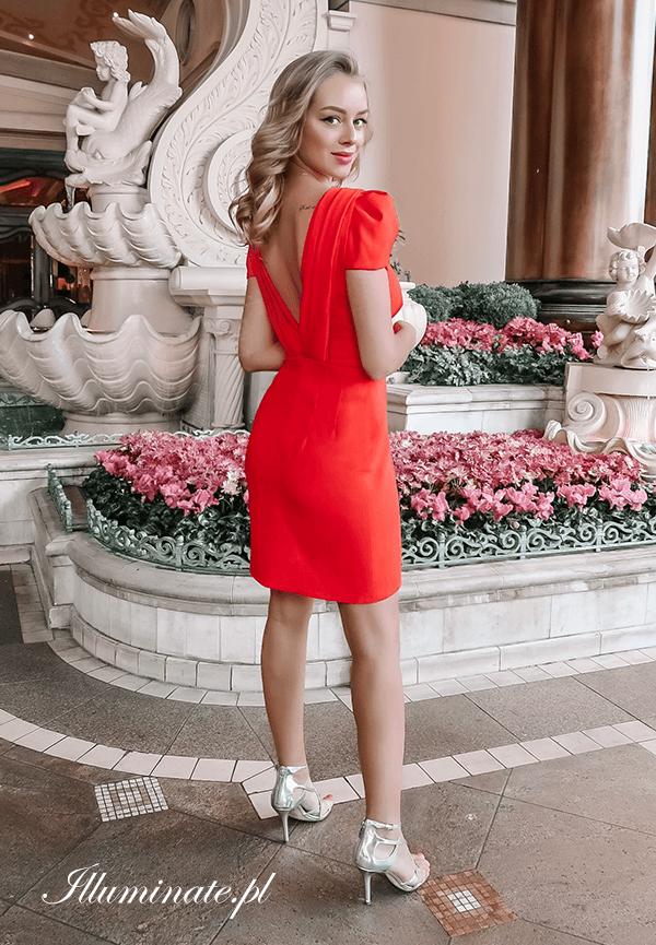 c345f2f0c0  czerwonasukienka  sukienkanachrzest  sukienkanakomunie  krótkasukienka   sukienki  chrzest  komunia  wesele