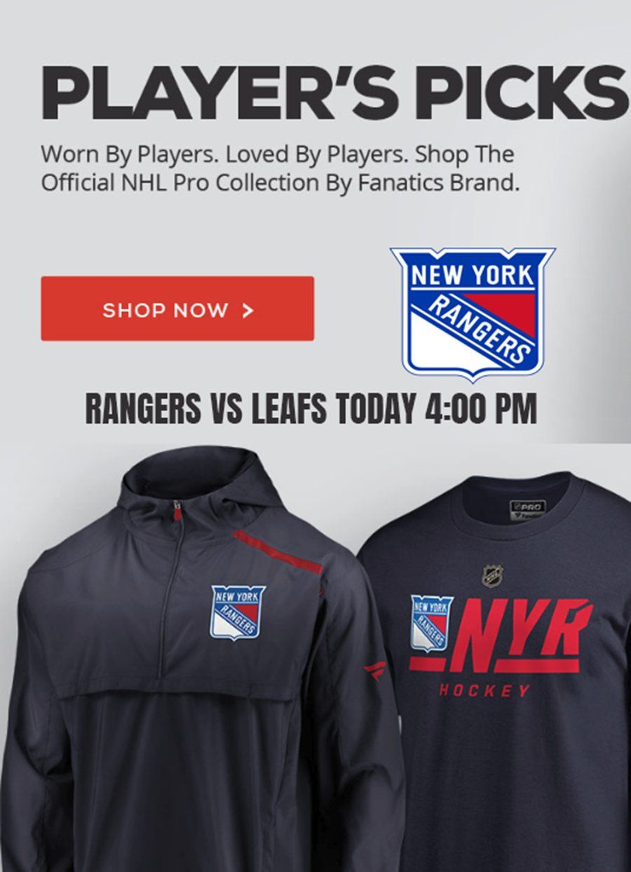 fac3f08fb Rangers vs Leafs today at 4 PM. Suit up for the win!  newyork