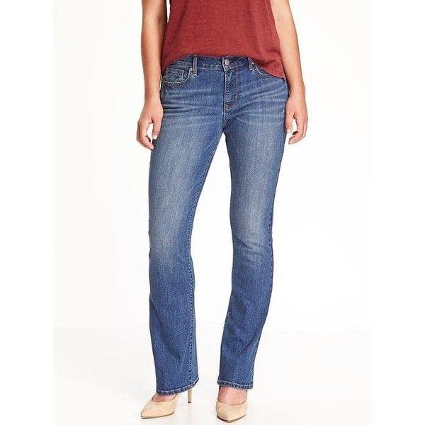 Petite stretch bootcut jeans