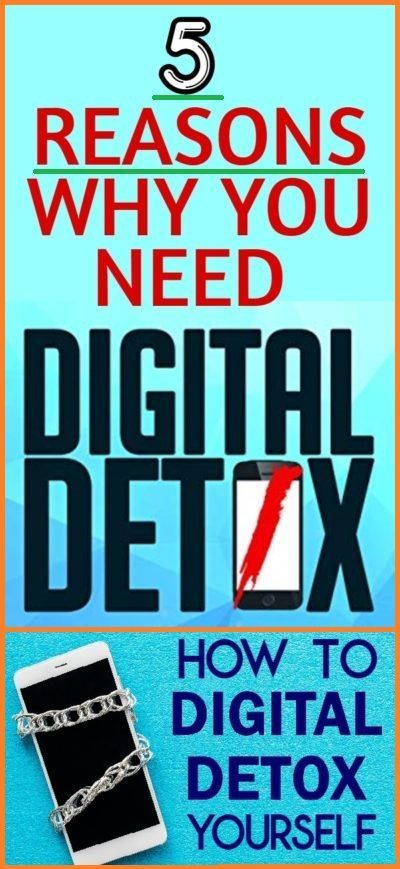 5 reasons for digital detoxification and how you can detoxify yourself digitally - Fitness Viralhoba...