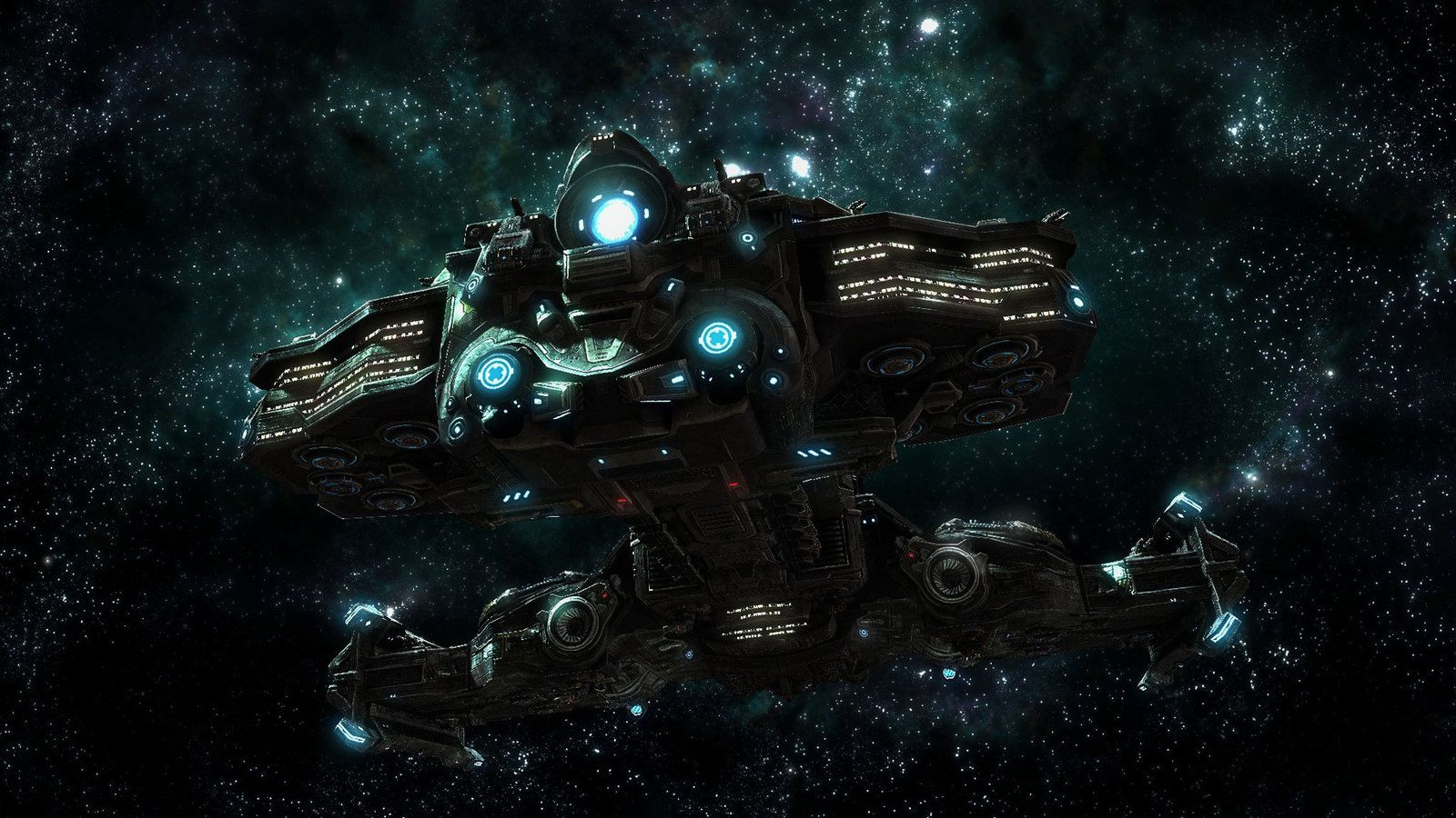 Black themed spaceship conceptual artwork and wallpapers 1 design - Black Themed Spaceship Conceptual Artwork And Wallpapers 1 Design Utopia Trend