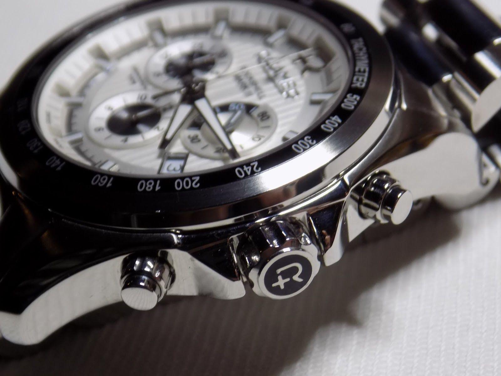 Watch and clock collection roamer rockshell mark iii chrono