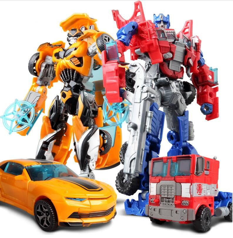 NEW Anime Series Action Figure Toys Transformation Robot Car ABS ...