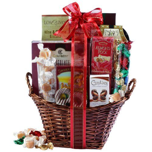 Broadway Basketeers Happy Birthday Kosher Gourmet Gift Basket Medium