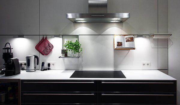 licht in der küche gut geplant ist definitiv besser