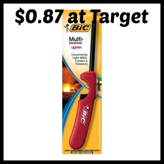 Target Bic Multi Purpose Lighter Only 0 87 Http Dealmama Com 2017 05 Target Bic Multi Purpose Lighter 0 87 Lighter Bic The Krazy Coupon Lady