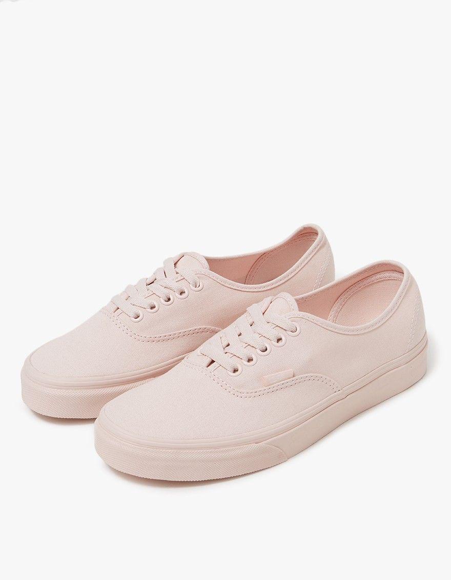 Vans / Authentic in Peach Blush