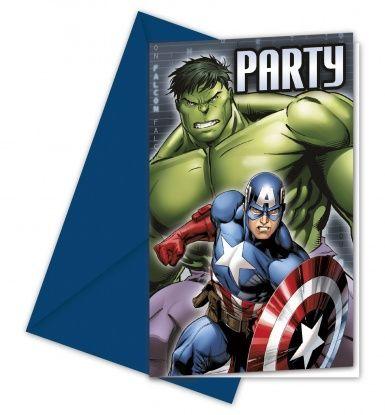 Biglietti d'invito festa di compleanno degli Avengers™