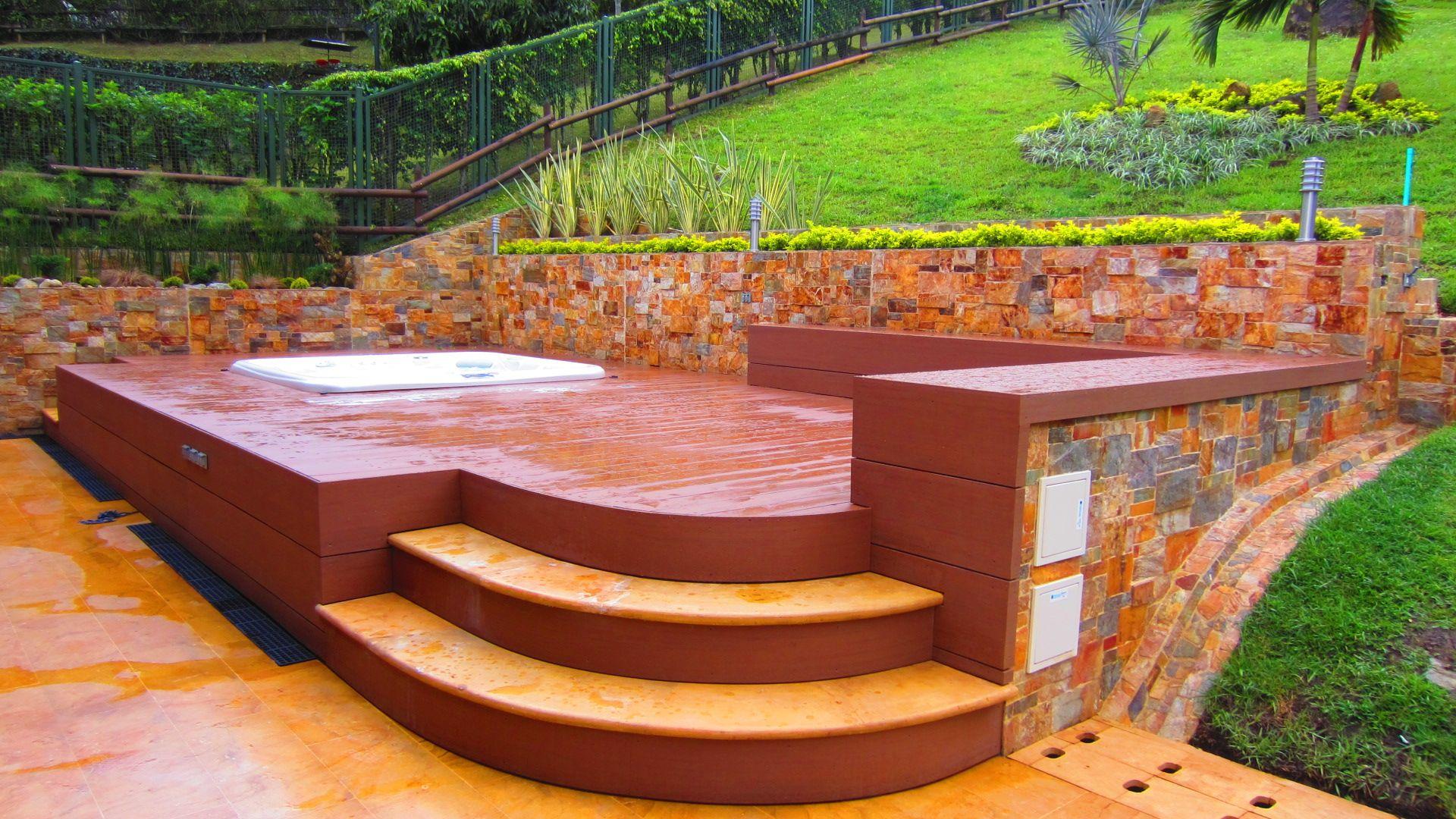 Patio Deck Design Tool: Hot Tub Deck Design Planning Tool
