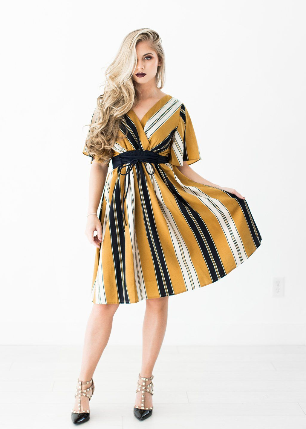 Charleston Yellow Dress, new years eve, holiday outfit