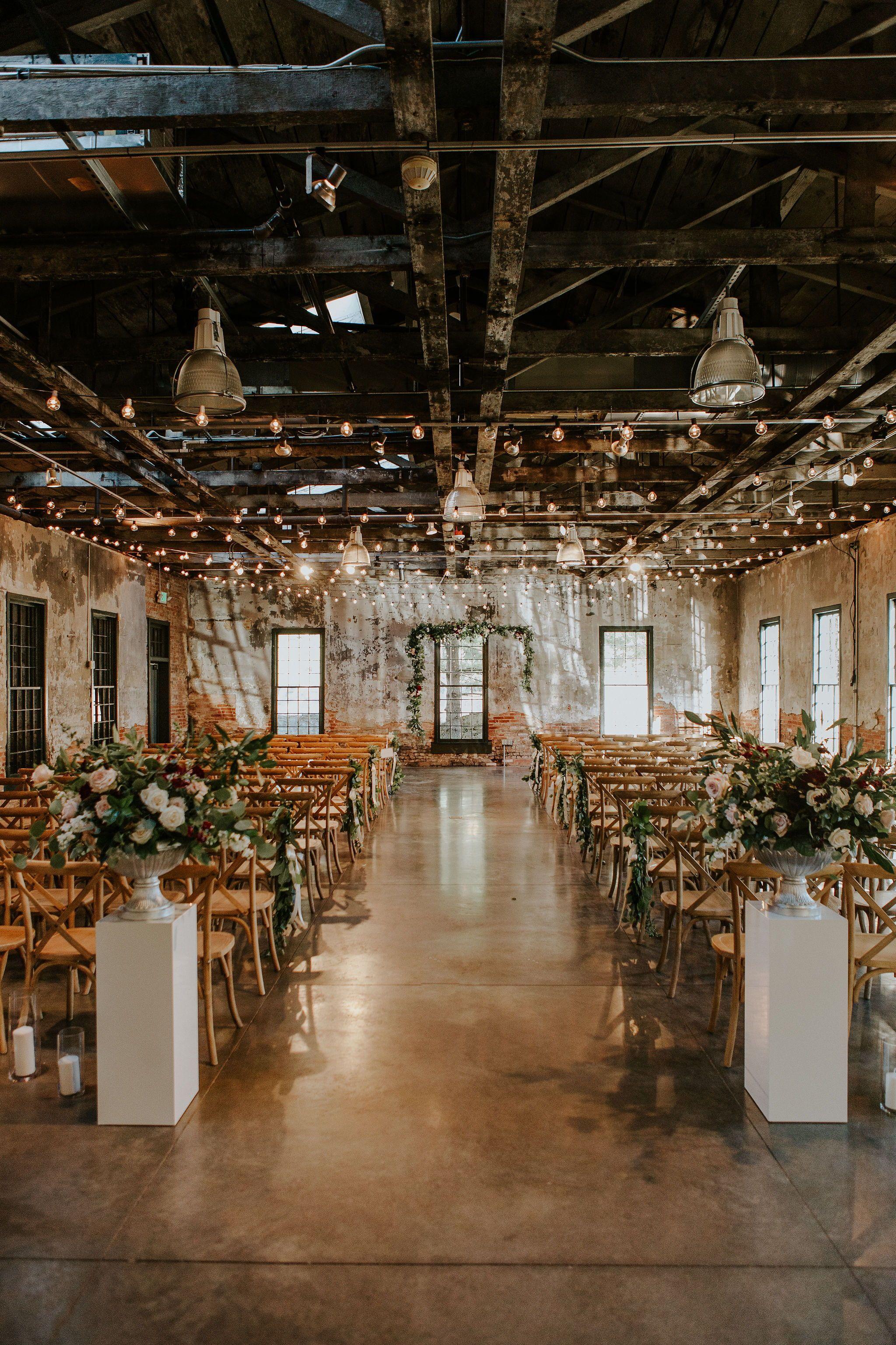Mt Washington Mill Dye House Industrial Baltimore Wedding Venue