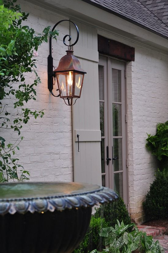 French Outdoor House Lanterns   Google Search